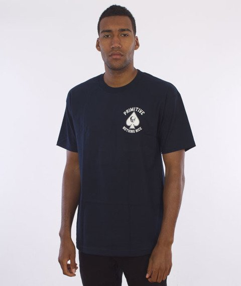 Primitive-Royal Skull T-Shirt Granatowy