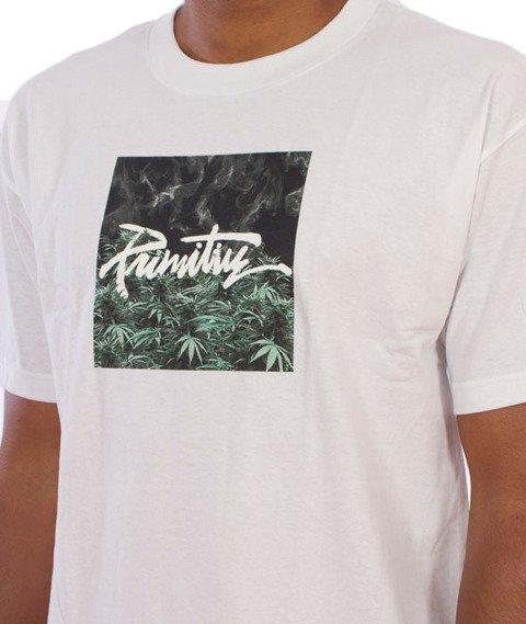 Primitive-Thrashed Hot Box T-Shirt Biały