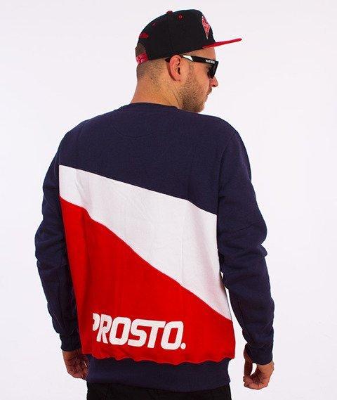 Prosto-Bermuda Bluza Czerwona