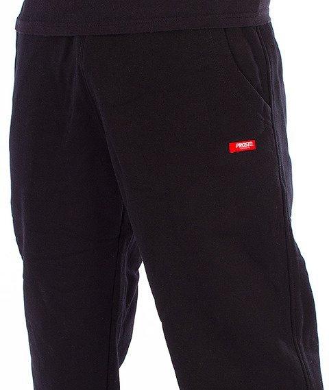 Prosto-College Spodnie Dresowe Czarne