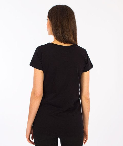 Prosto-Rolly T-shirt Damski Black