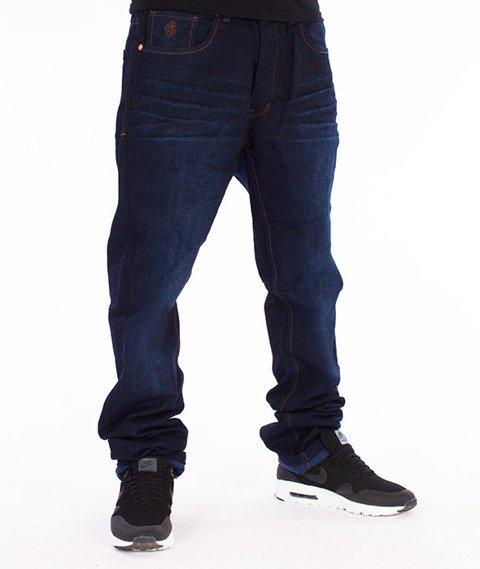 RocaWear-Mid Blue Relaxed Fit Spodnie Jeans R00J9911L 855