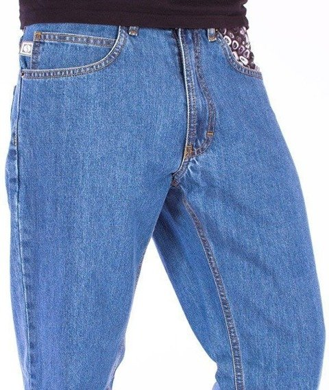 SmokeStory-Cans Slim Jeans Light Blue