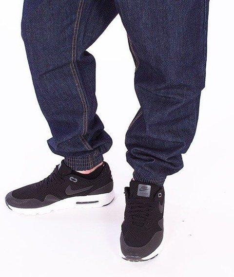 SmokeStory-Chino Jogger Regular Jeans Dark Blue
