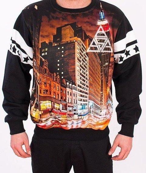 SmokeStory-City Triangle Bluza Czarna