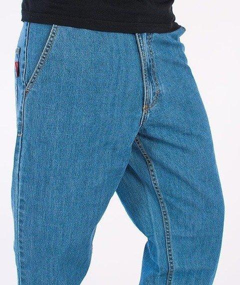 SmokeStory-Classic Jogger Jeans Light Blue