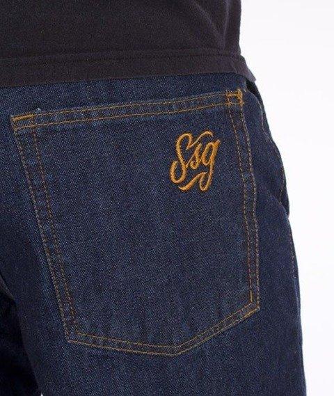 SmokeStory-Jogger Regular SSG Tag Dark Blue