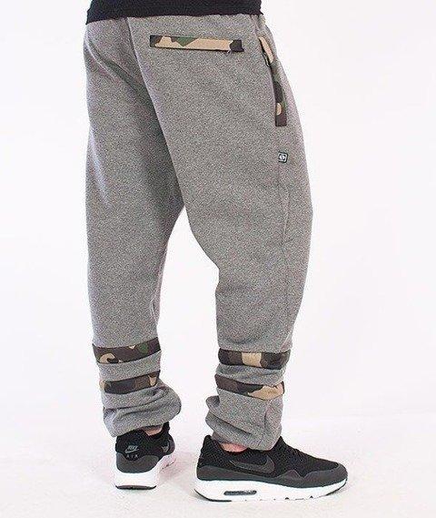 SmokeStory-Moro Regular Spodnie Dresowe Ciemny Melanż