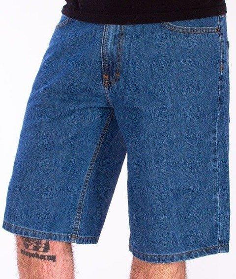 SmokeStory-Outline Krótkie Spodnie Light Blue