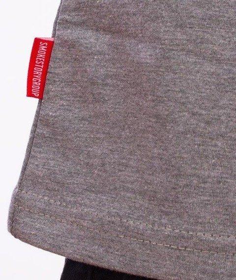 SmokeStory-SSG City T-Shirt Szary