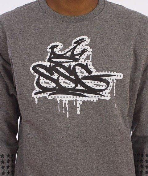 SmokeStory-SSG Tag Dots Bluza Grafitowa