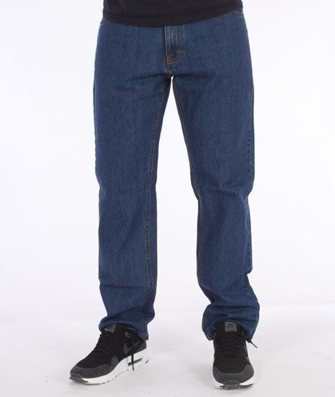 SmokeStory-SmokeStory Slim Jeans Medium Blue