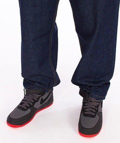 SmokeStory-Stair Pocket Baggy Jeans Dark Blue