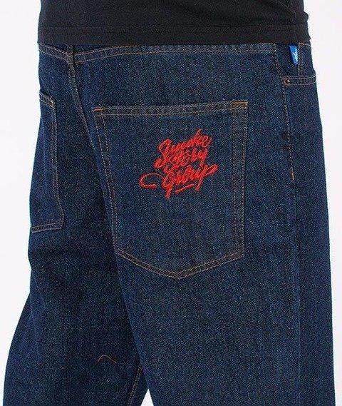 SmokeStory-Tag Regular Jeans Dark Blue