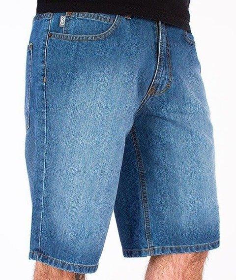 SmokeStory-Wycierane Krótkie Spodnie Light Blue