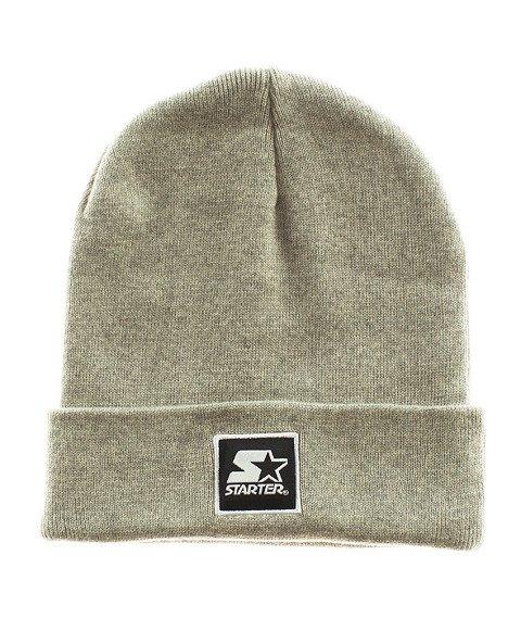 Starter-Backboard Cuff Knit Czapka Zimowa Grey