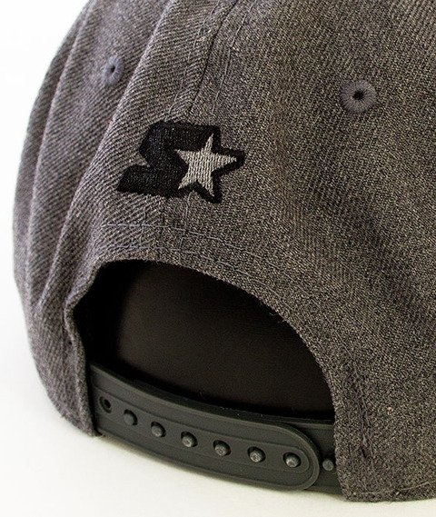 Starter-Crystal Wool Snapback Charcoal