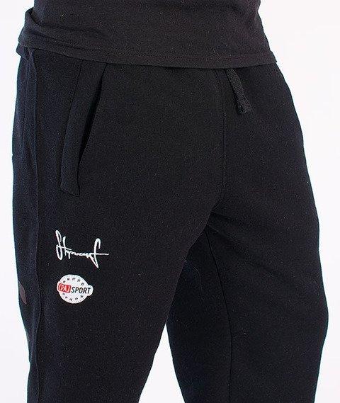 Stoprocent-CS16 Spodnie Dresowe Black