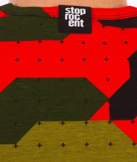 Stoprocent-Camu Red Tank Top Camo