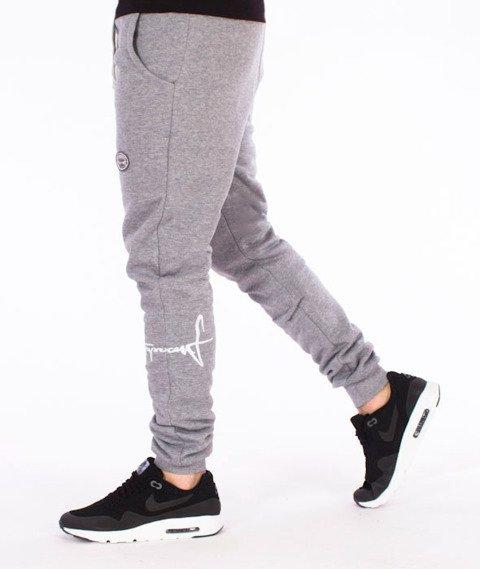 Stoprocent-Cowboy Legtag Spodnie Dresowe Szare