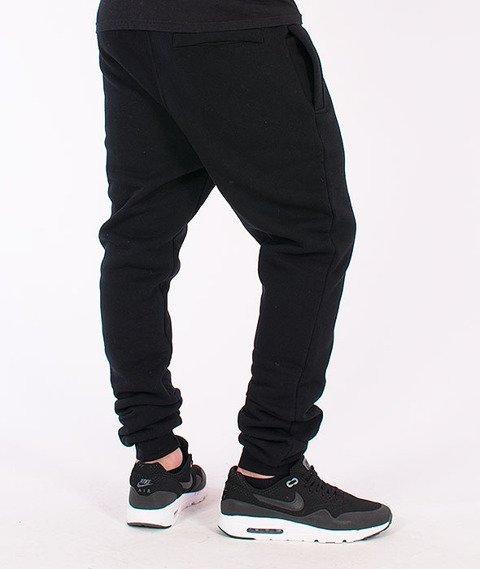 Stoprocent-Cowboy Tag16 Spodnie Dresowe Black