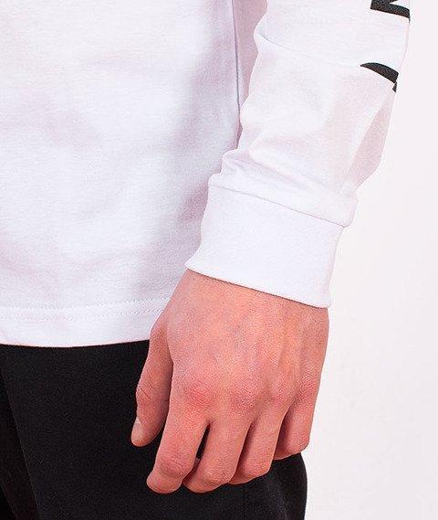 Stoprocent-Cross Sleeve Longsleeve Biały