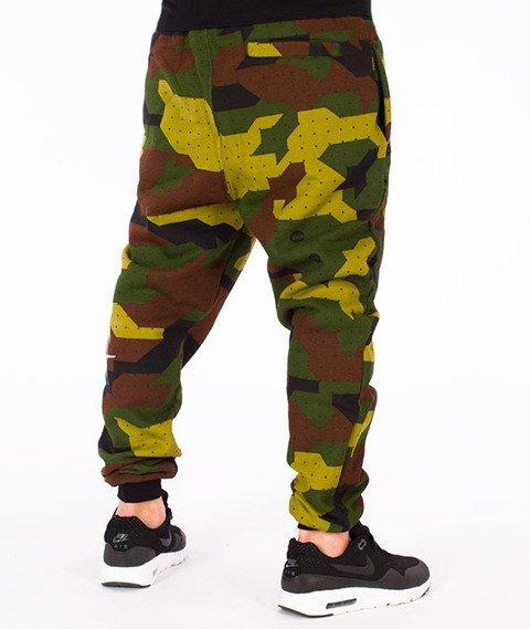 Stoprocent-SMC Jogger Kneetag17 Spodnie Camo Green