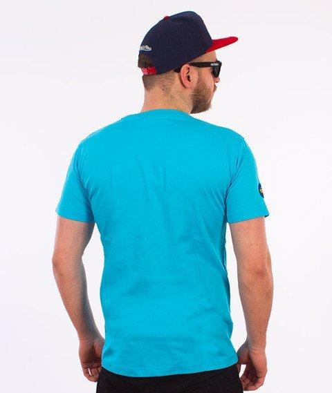 Stoprocent-Skelet T-Shirt Niebieski