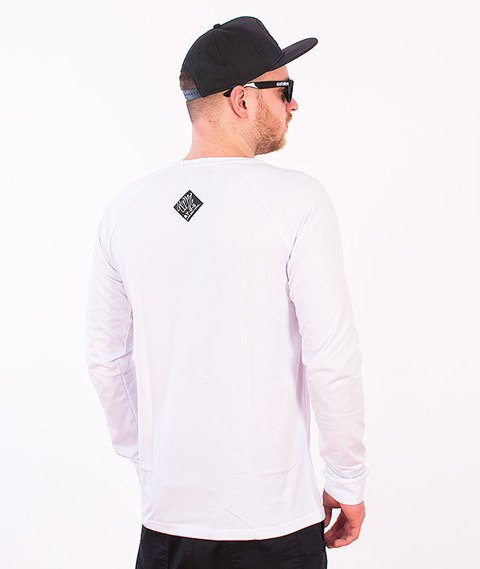 Stoprocent-Tag16 Sleeve Longsleeve Biały