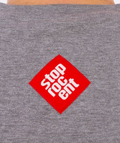 Stoprocent-Tag17 T-shirt Szary