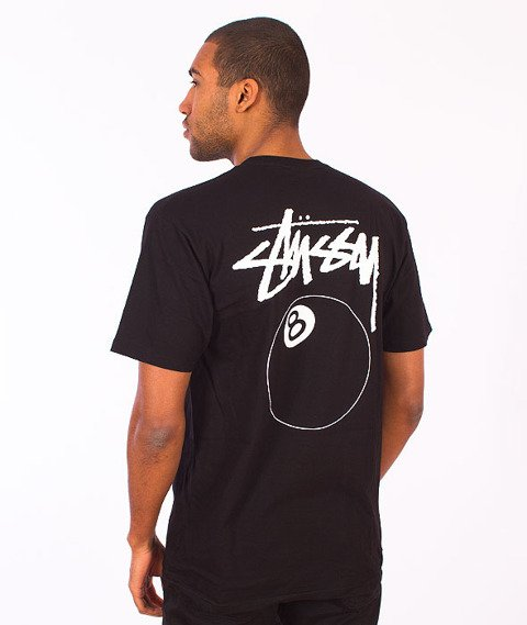 Stussy-8 Ball T-Shirt Black