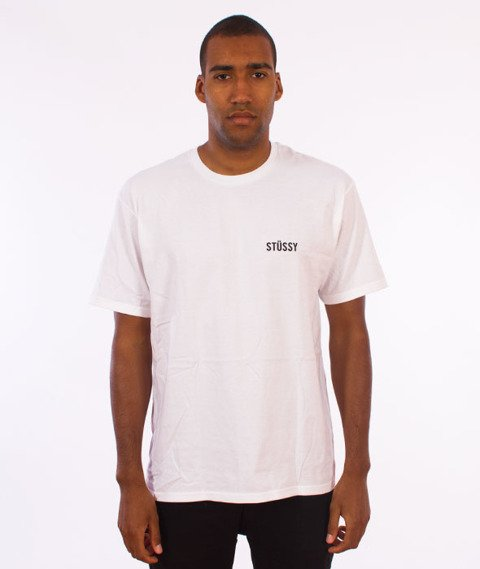 Stussy-Catch A Fire T-Shirt White