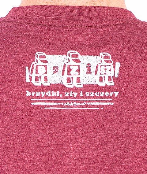 Tabasko-BZS T-Shirt Bordowy