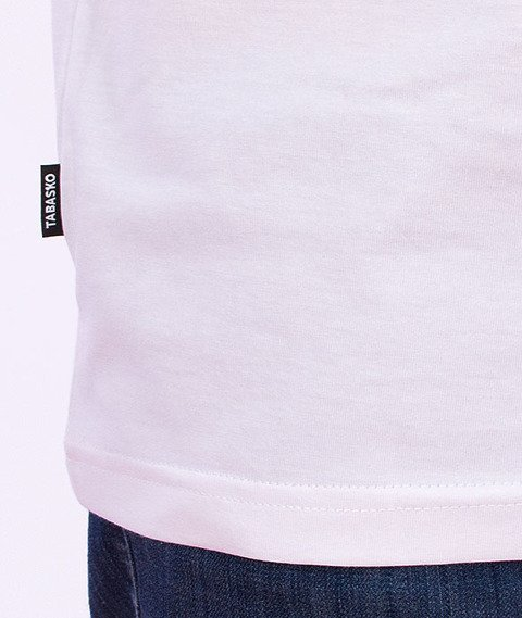 Tabasko-Nie Lubię T-Shirt Biały
