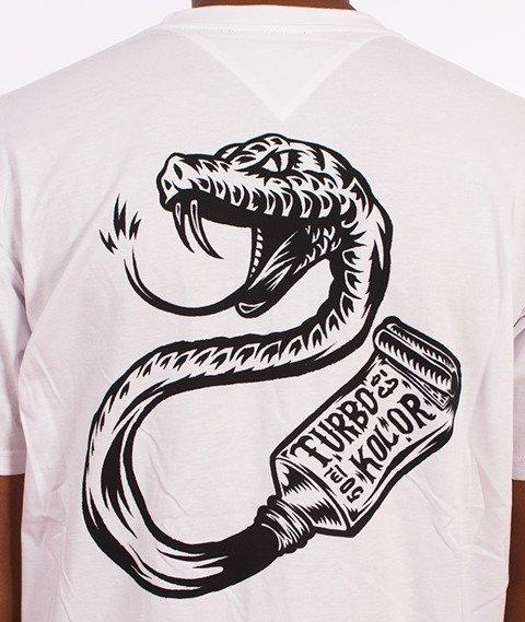 Turbokolor-Bite T-Shirt Biały