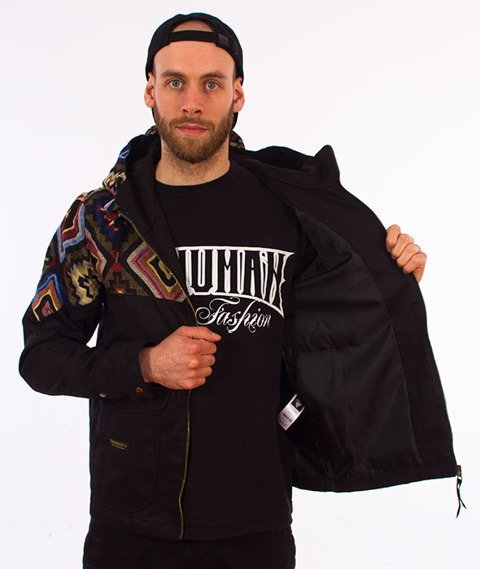 Turbokolor-Sherman Aztec Jacket Black
