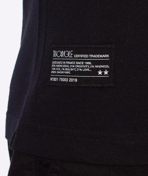 Two Angle-Ymonal Tshirt Black