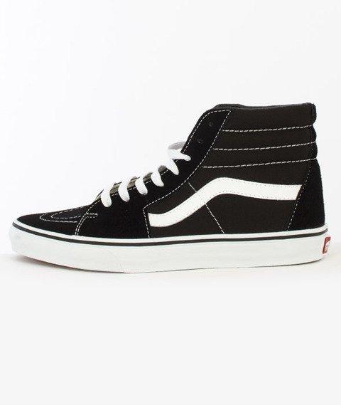 Vans-SK8-Hi Black/Black/White