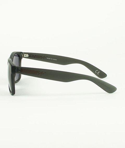 Vans-Spicoli 4 Shades Sunglasses Black Frosted Translucent