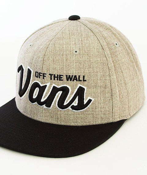 Vans-Wilmington Snapback Heather Grey/Black