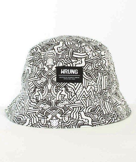 Wrung-Blake Bucket Hat Biały