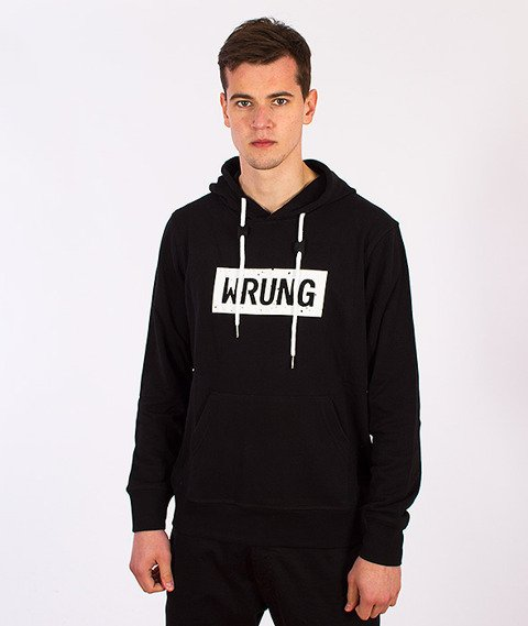 Wrung-Core Bluza Kaptur Czarna