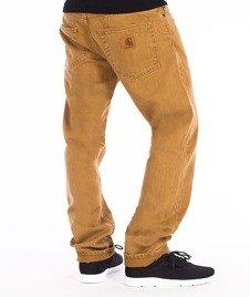 Carhartt-Racket Pants Spodnie Bronze Stone Washed L32