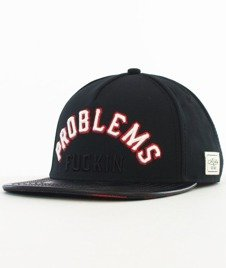 Cayler & Sons-Problems Snapback Black/Orange