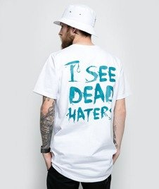 Diamante-I See Dead Haters T-Shirt Biały