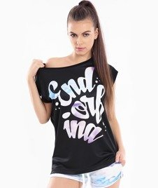 Endorfina-TDB Surf T-Shirt Damski Czarny