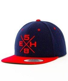 Extreme Hobby-Rebel Snapback Granatowy/Czerwony