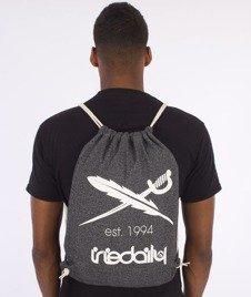 Iriedaily-Desire Nerd Beutel Sports Bag Worek Anthra Melange