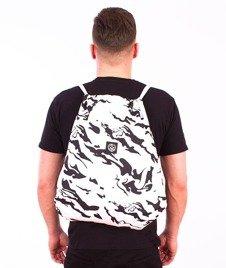 Koka- Naked Camo Back Bag White/Black