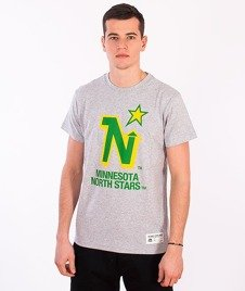 Majestic-Minnesota North Stars T-shirt Grey